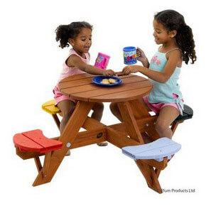Børnemøbler til udendørs brug